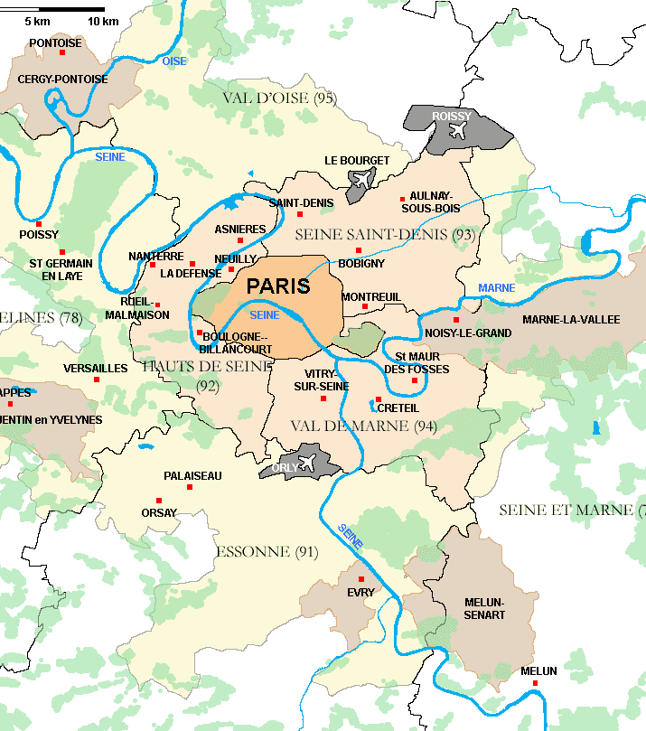 Parisregionen